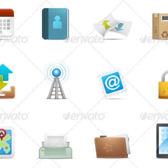 Qicon series   Web and Communication icons 3