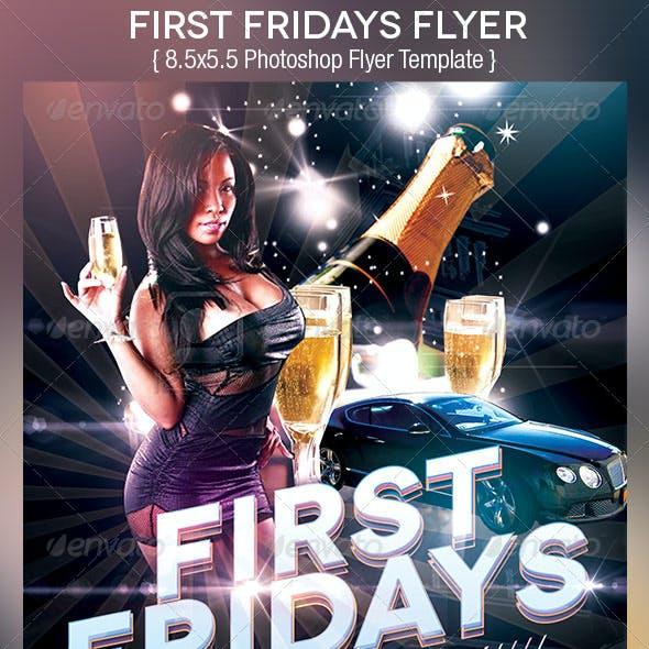 First  Fridays Flyer Template