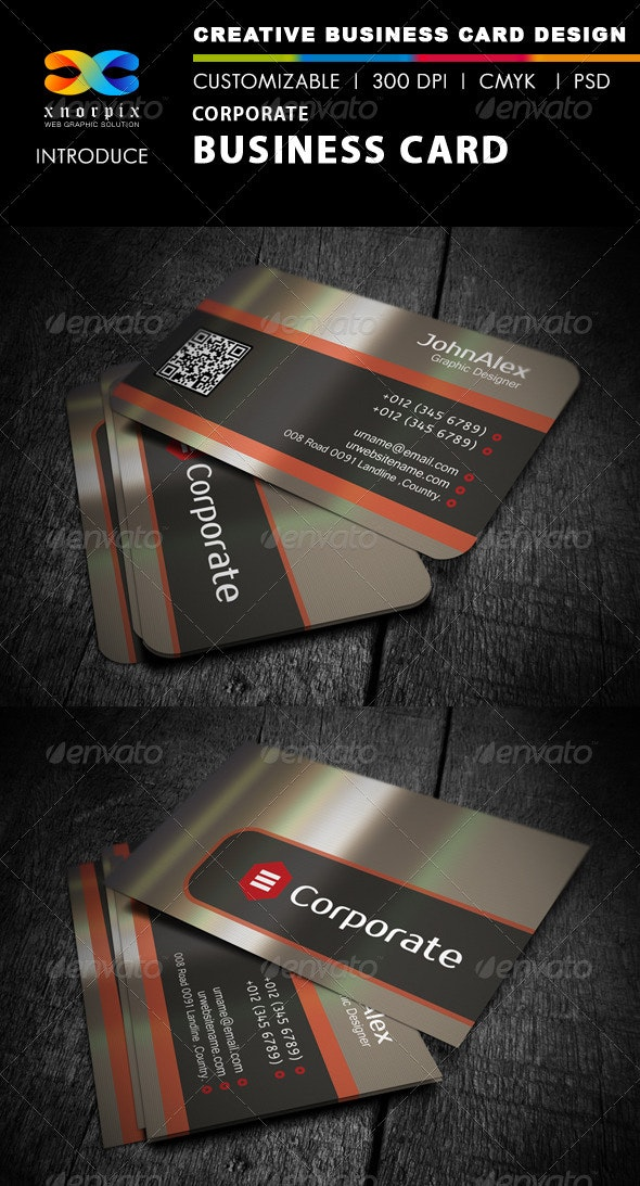 Metal Business Card - Industry Specific Business Cards
