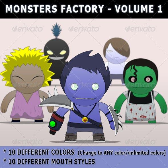 Monsters Factory Vol-1