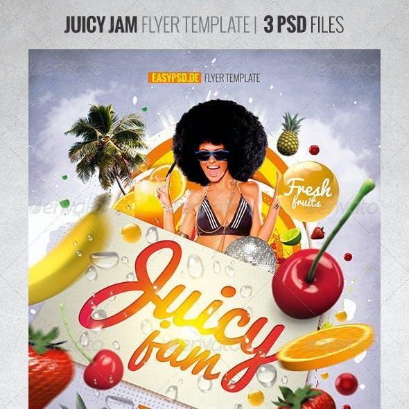 Juicy Jam Flyer Template