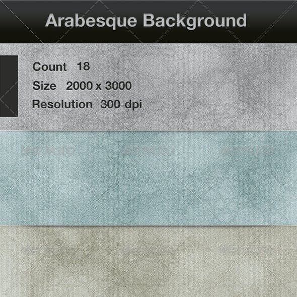 18 Arabesque background