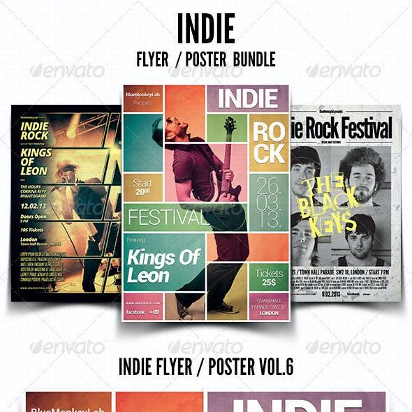 Indie Flyer / Poster Bundle 2