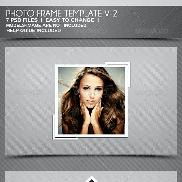 Photo Frame Templates V-2