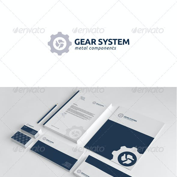Gear System Stationery