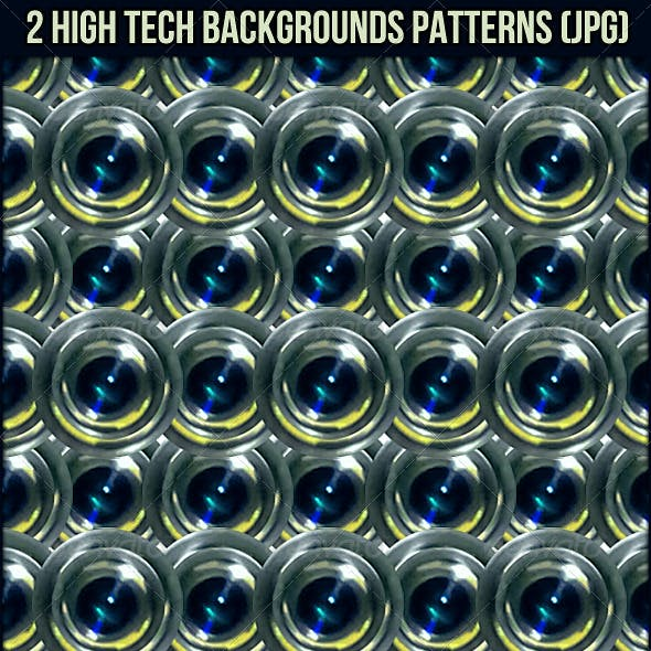 2 High Tech Background Patterns