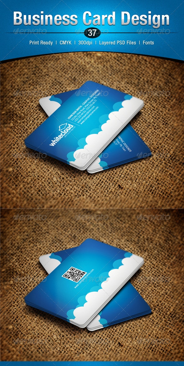 Business Card Design 37 - Business Cards Print Templates