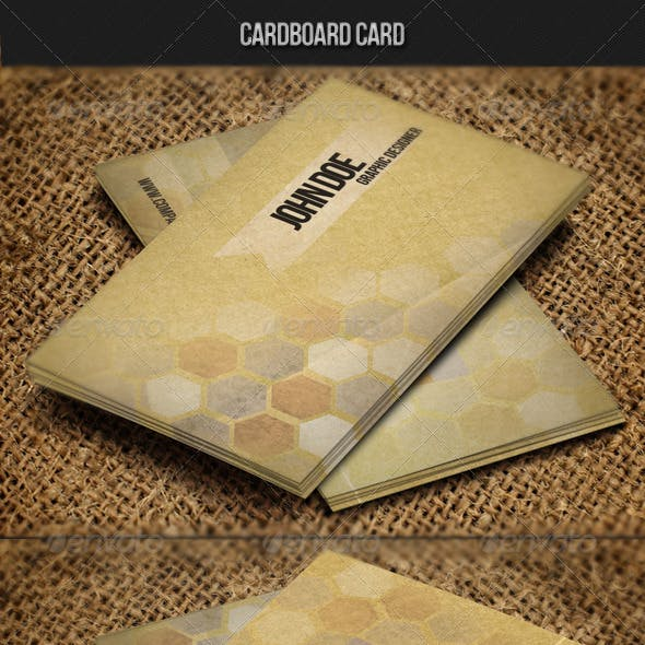 Cardboard Card