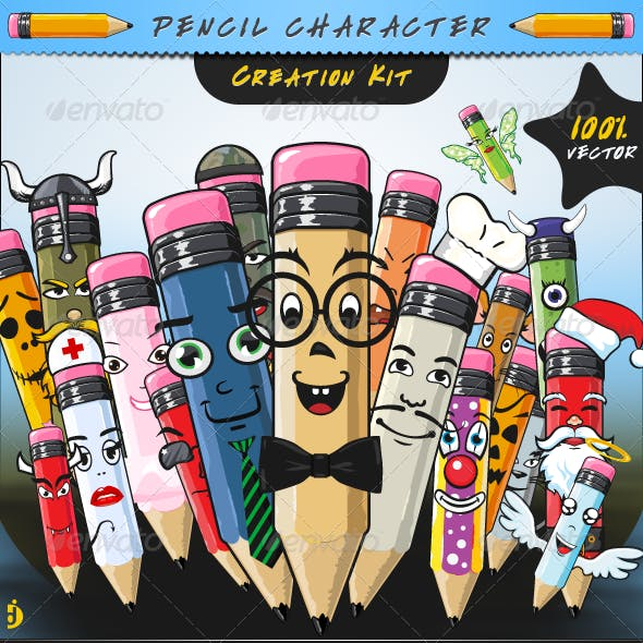 Pencil Character Creation Kit