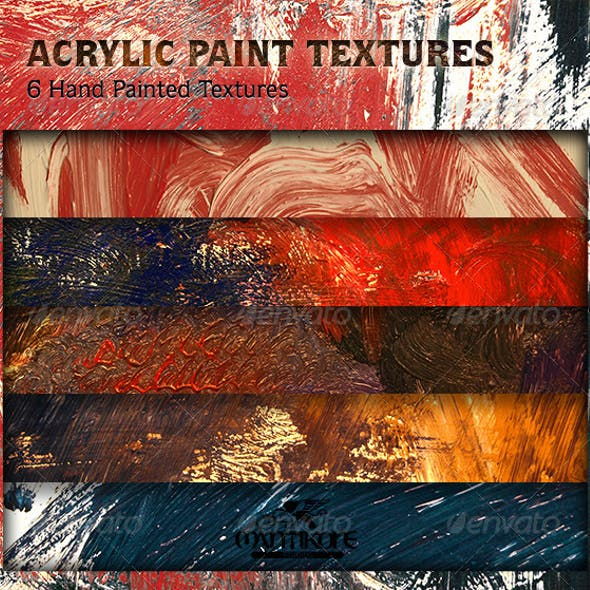 Acrylic Paint Textures