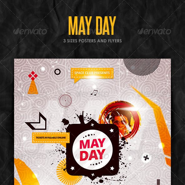 May Day Posters and Flyer