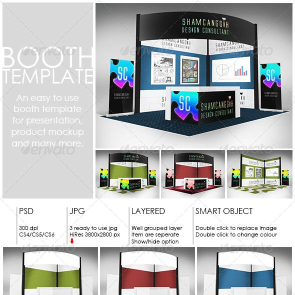 Booth Template Part 2
