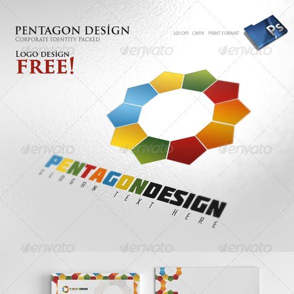 Pentagon Design - Corporate identity