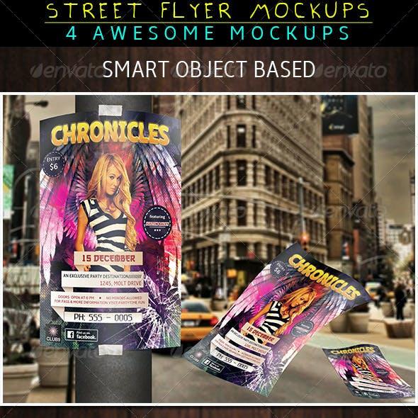 Street Flyer Mockup