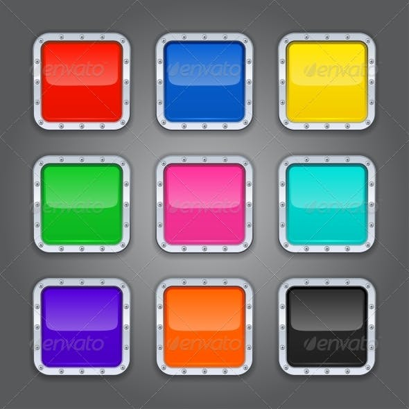 Set of Backgrounds for App Icons