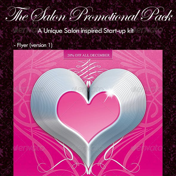 The Salon Promotional Pack
