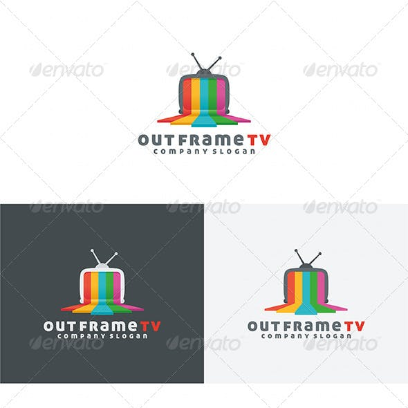 Out Frame TV Logo