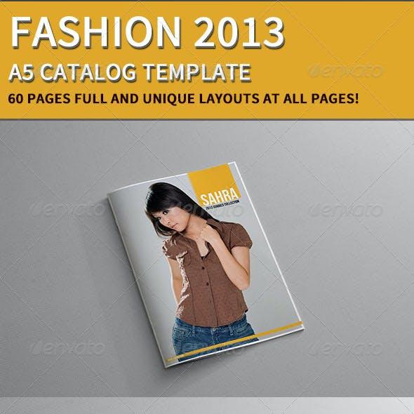Fashion Catalog 2013