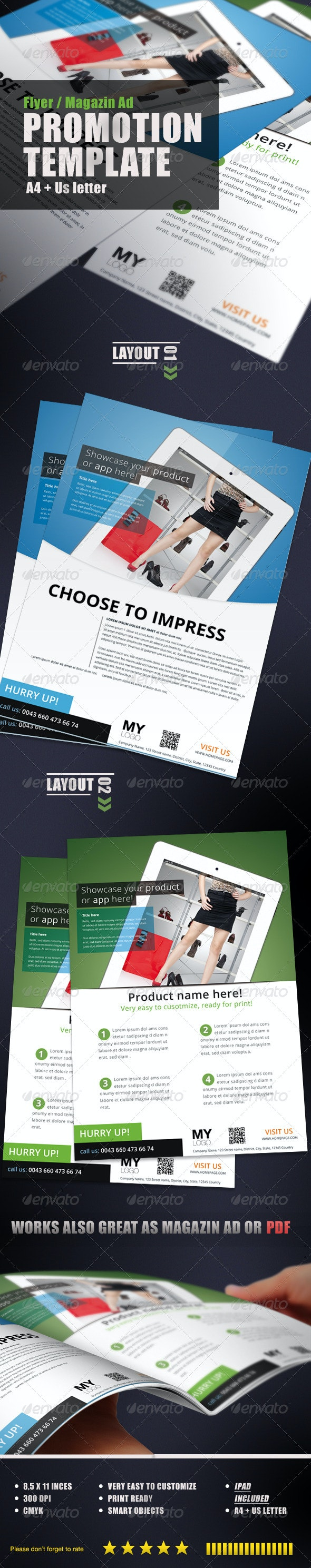 Promotion Flyer - Commerce Flyers