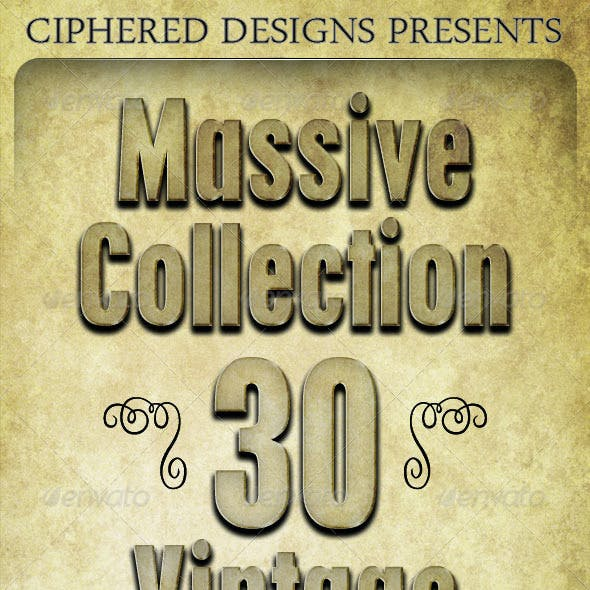 Massive Collection - 30 Vintage Textures