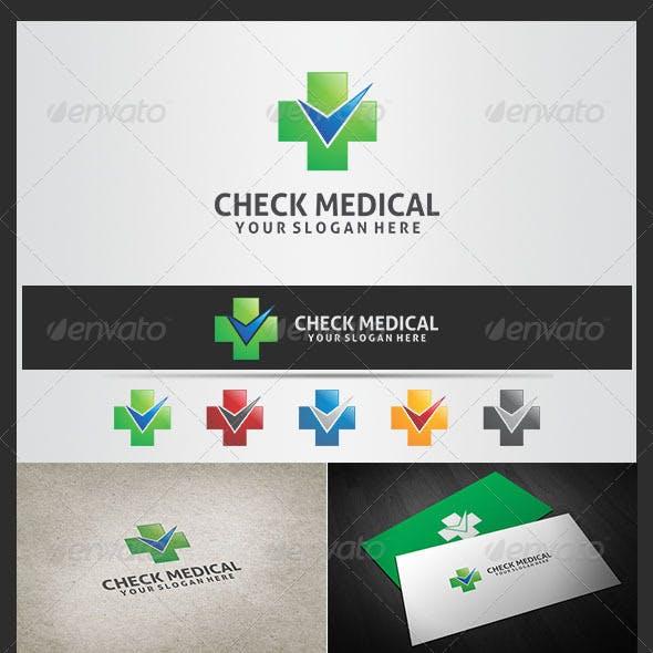 Check Medical Logo Template