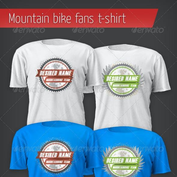 Mountain Bike Fan T-shirt