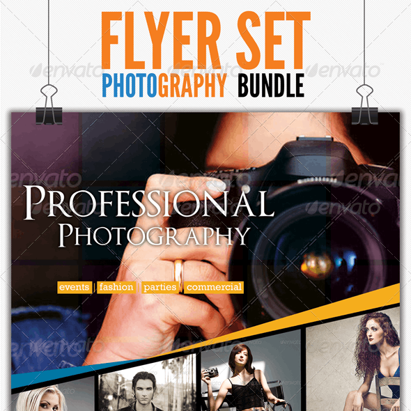 Photography Flyer Bundle Set 1