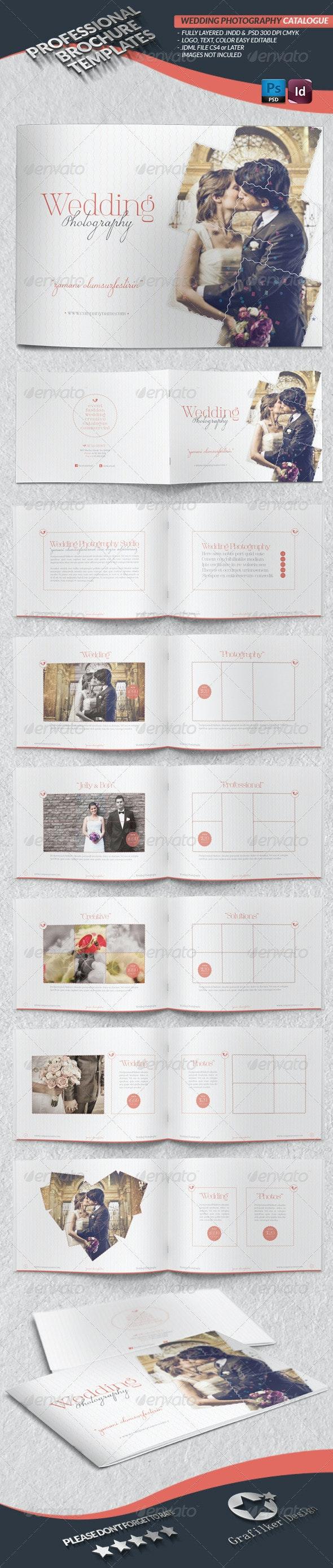 Wedding Photography Catalogue Template - Brochures Print Templates