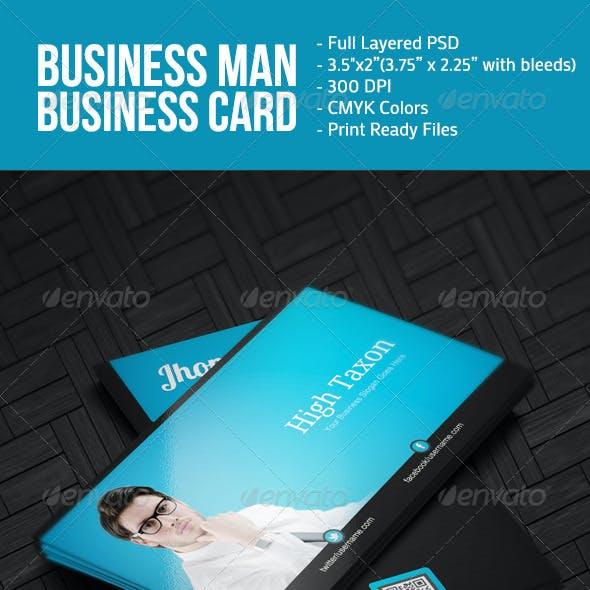 Business Man BusinessCard