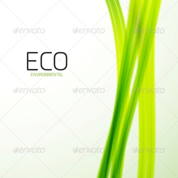 Eco Modern Green Lines Template