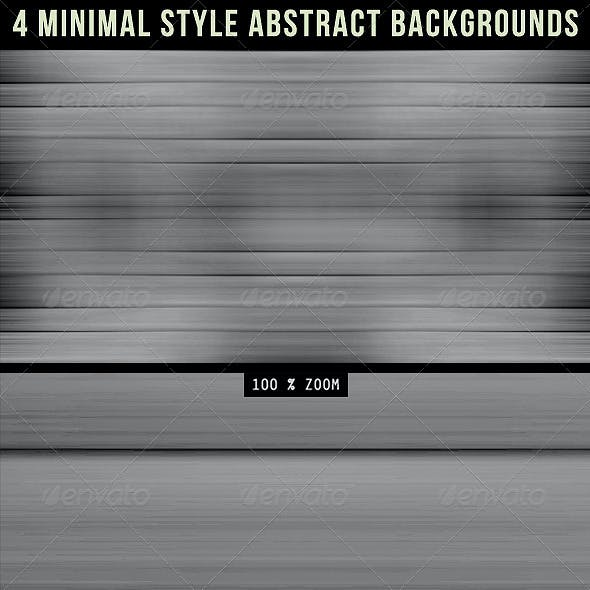4 Minimal Style Abstract Backgrounds