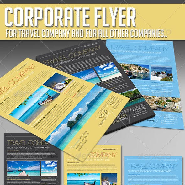 Corporate Flyer - Travel Company