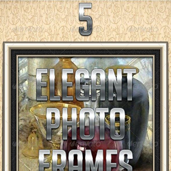 5 Elegant Photo Frames