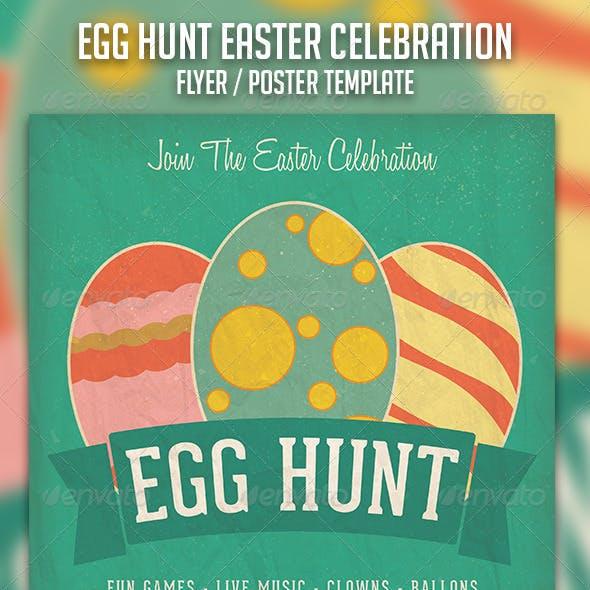 Egg Hunt Easter Celebration