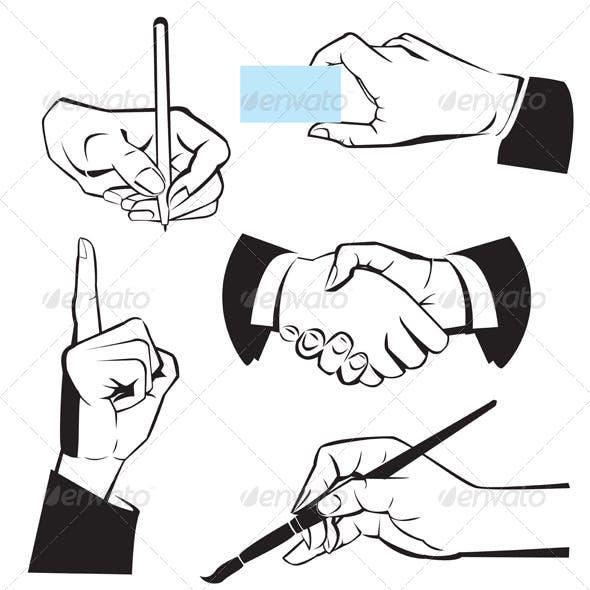 Hands - Different Gestures