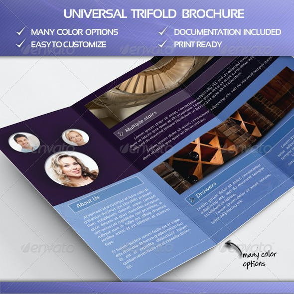 Universal Trifold Brochure
