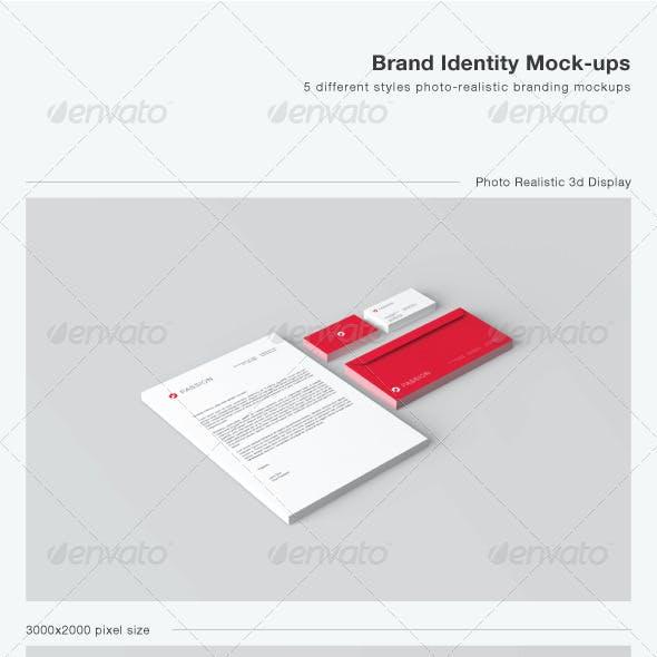 Stationery / Brand Identity Mock-ups