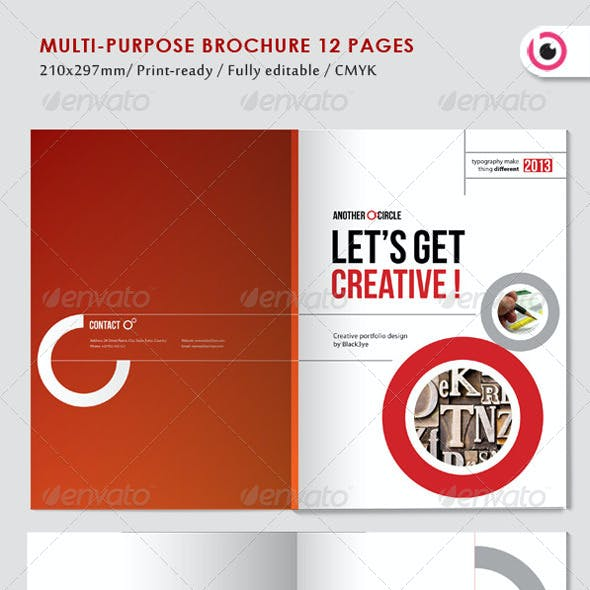 Multipurpose Circle Brochure
