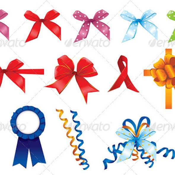 Various Vector Ribbons