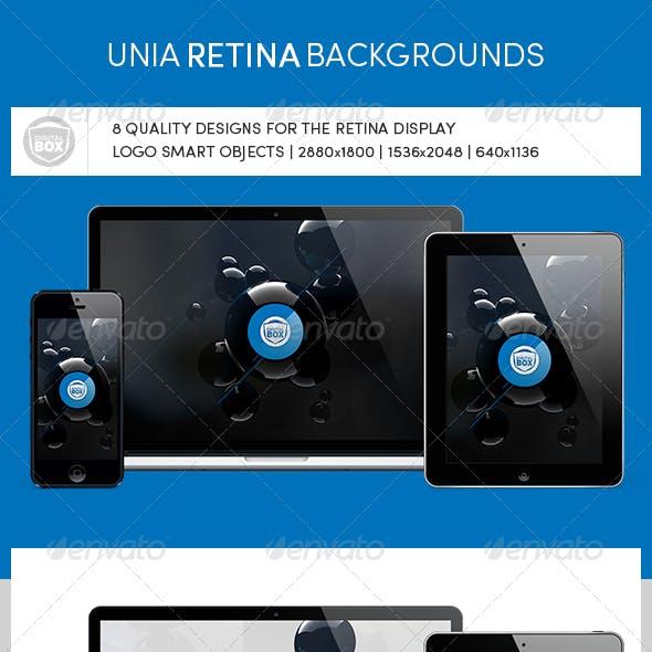 Unia Retina Backgrounds
