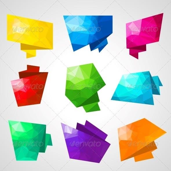 Multicolored Speech Bubbles.