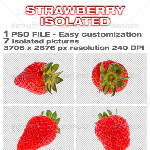 Strawberry Isolated