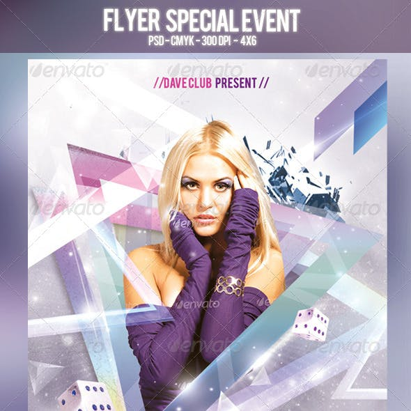 Flyer Special Event