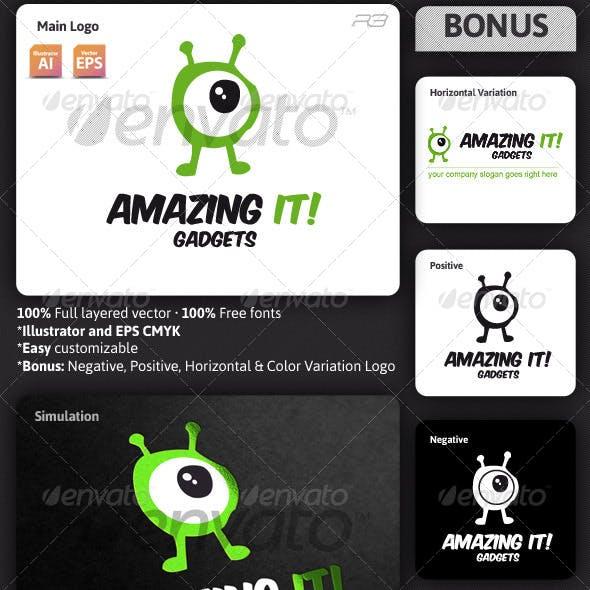 Gadgets Logo Template