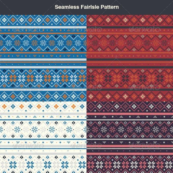 Seamless FairIsle Pattern