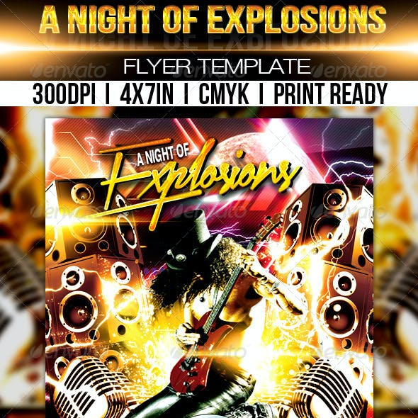 A Night Of Explosions