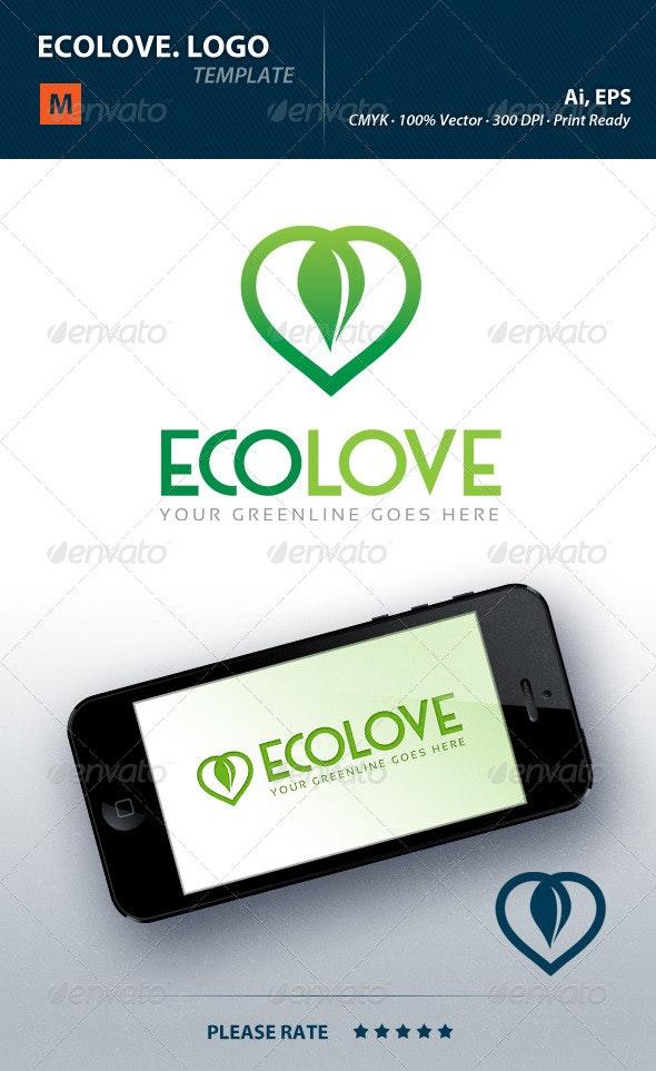 Ecolove Logo - Nature Logo Templates