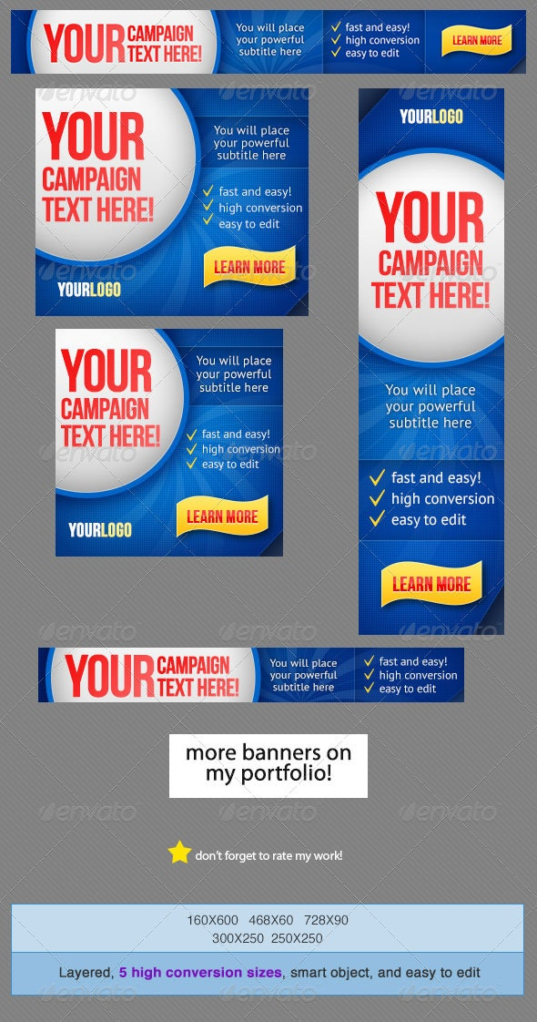 Banner Design - Banners & Ads Web Elements