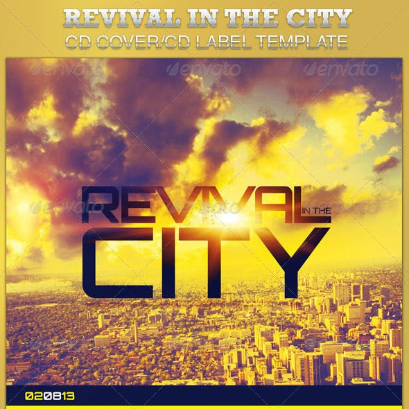 Revival in the City CD Artwork Template
