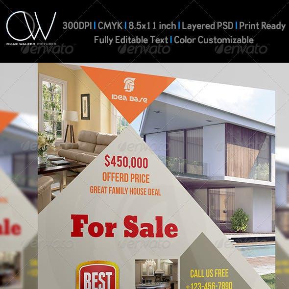 Real Estate Flyer Vol.4